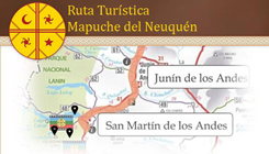Route tourist Mapuche